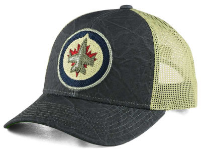 Winnipeg Jets CCM NHL Current Structured Adjustable Cap