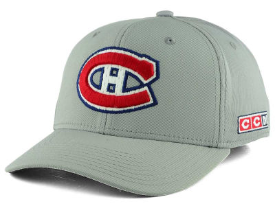 Montreal Canadiens CCM NHL CM791Z Current Structured Flex Cap
