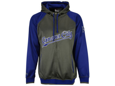Kansas City Royals MLB Men's Fanatic Raglan Full-Zip Hoodie