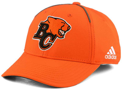 BC Lions adidas 2017 CFL Coaches Structured Flex Cap