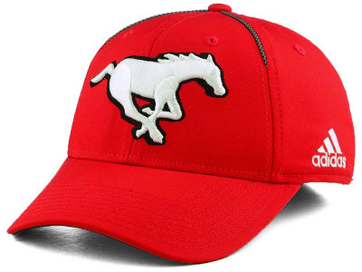 Calgary Stampeders adidas 2017 CFL Coaches Structured Flex Cap