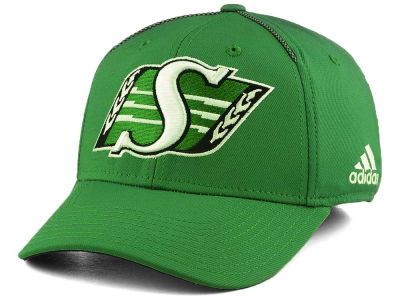 Saskatchewan Roughriders adidas 2017 CFL Coaches Structured Flex Cap
