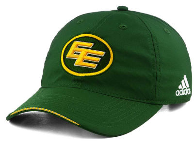 Edmonton Eskimos adidas CFL Coaches Adjustable Slouch Cap