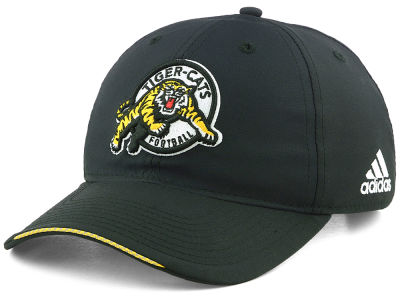 Hamilton Tiger-Cats adidas CFL Coaches Adjustable Slouch Cap