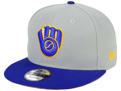 Milwaukee Brewers New Era MLB All Shades 9FIFTY Snapback Cap