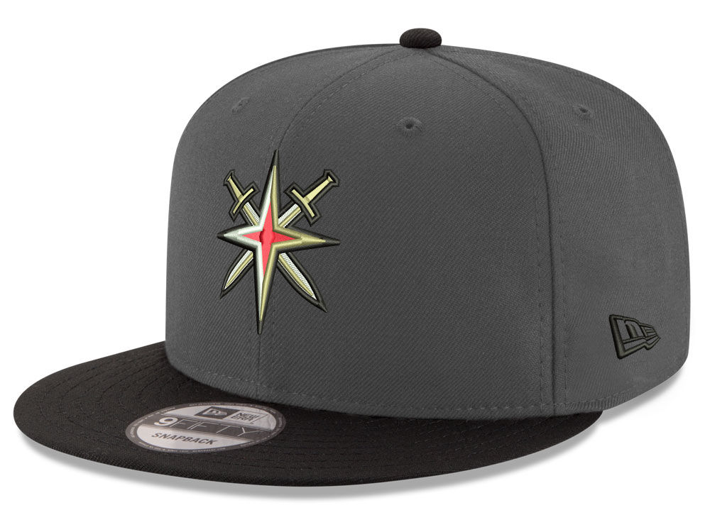 a824271bbf5 Vegas Golden Knights New Era NHL All Day 9FIFTY Snapback Cap