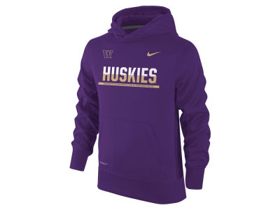 Washington Huskies Nike NCAA Youth Knock Out Hoodie