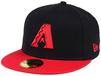 Arizona Diamondbacks New Era MLB Black & Red 59FIFTY Cap