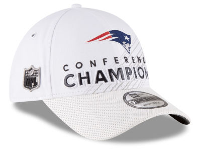 New England Patriots New Era NFL Super Bowl LI Conference Champ Locker Room 9FORTY Cap