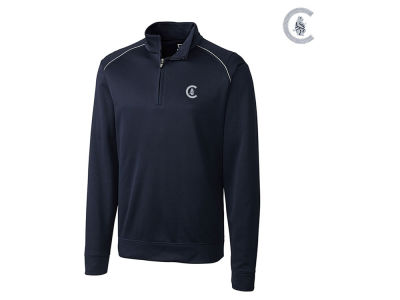 Chicago Cubs Cutter & Buck MLB Men's Coop Ridge 1/2 Zip Pullover