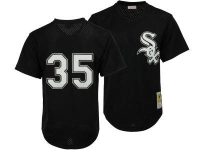 Chicago White Sox Frank Thomas Mitchell & Ness MLB Men's Authentic Mesh Batting Practice V-Neck Jersey
