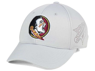 Florida State Seminoles Top of the World NCAA Light Gray Rails Flex Cap