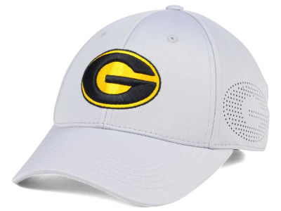 Grambling Tigers Top of the World NCAA Light Gray Rails Flex Cap