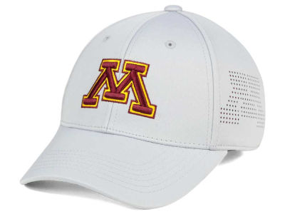 Minnesota Golden Gophers Top of the World NCAA Light Gray Rails Flex Cap