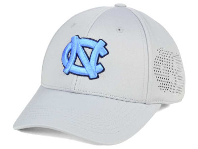 North Carolina Tar Heels Top of the World NCAA Light Gray Rails Flex Cap