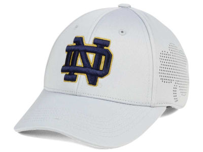Notre Dame Fighting Irish Top of the World NCAA Light Gray Rails Flex Cap