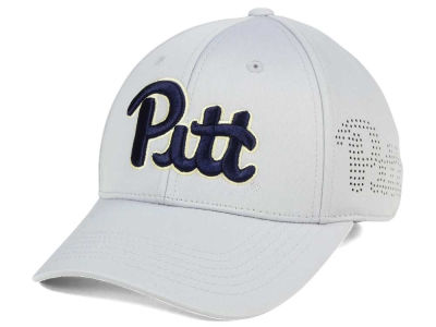 Pittsburgh Panthers Top of the World NCAA Light Gray Rails Flex Cap