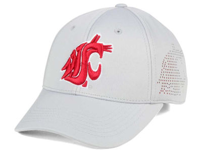 Washington State Cougars NCAA Light Gray Rails Flex Cap