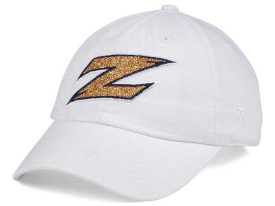 Akron Zips Top of the World Women's White Glimmer Cap