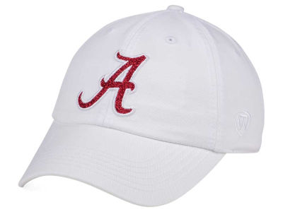 Alabama Crimson Tide Top of the World Women's White Glimmer Cap