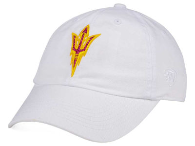 Arizona State Sun Devils Top of the World Women's White Glimmer Cap