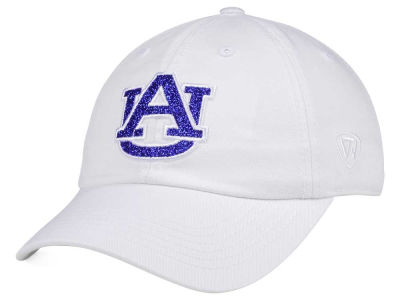 Auburn Tigers Top of the World Women's White Glimmer Cap