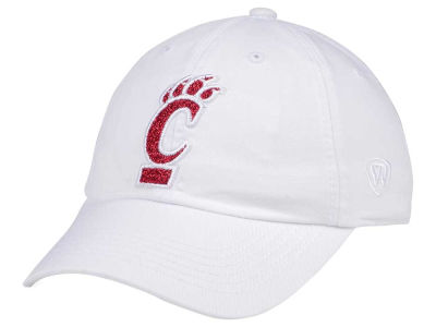Cincinnati Bearcats Top of the World Women's White Glimmer Cap