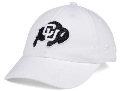 Colorado Buffaloes Top of the World Women's White Glimmer Cap