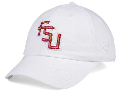Florida State Seminoles Top of the World Women's White Glimmer Cap