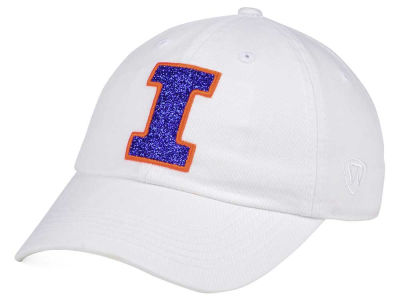 Illinois Fighting Illini Top of the World Women's White Glimmer Cap