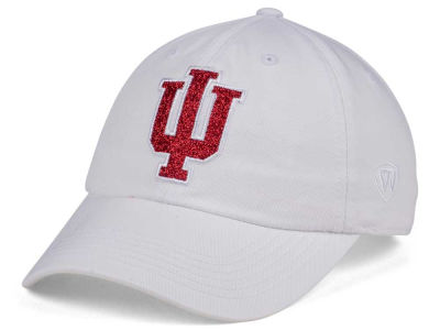 Indiana Hoosiers Top of the World Women's White Glimmer Cap