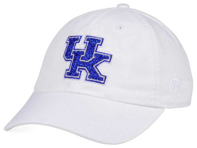 Kentucky Wildcats Top of the World Women's White Glimmer Cap