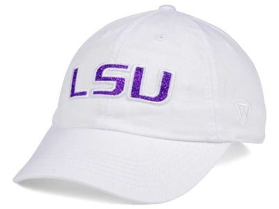 LSU Tigers Top of the World Women's White Glimmer Cap