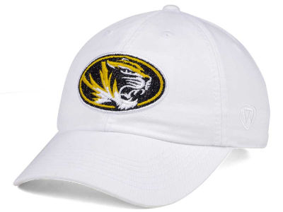 Missouri Tigers Top of the World Women's White Glimmer Cap