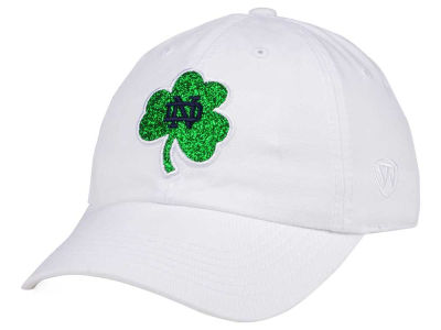 Notre Dame Fighting Irish Top of the World Women's White Glimmer Cap
