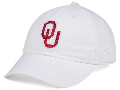 Oklahoma Sooners Top of the World Women's White Glimmer Cap