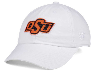 Oklahoma State Cowboys Top of the World Women's White Glimmer Cap