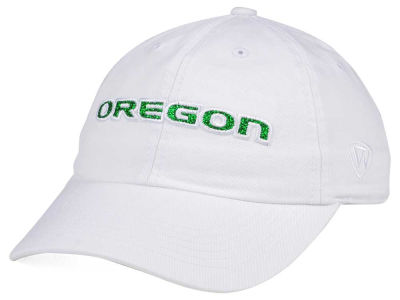 Oregon Ducks Top of the World Women's White Glimmer Cap