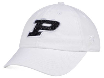 Purdue Boilermakers Top of the World Women's White Glimmer Cap