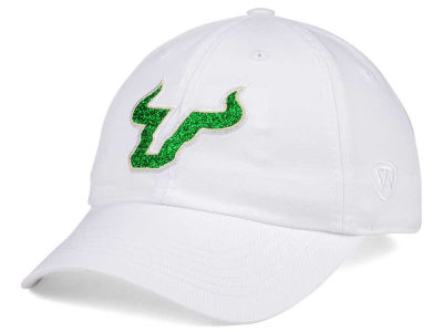 South Florida Bulls Top of the World Women's White Glimmer Cap