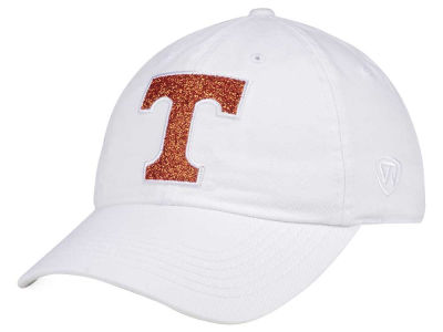 Tennessee Volunteers Top of the World Women's White Glimmer Cap