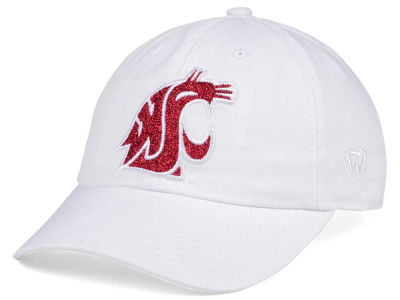 Washington State Cougars Top of the World Women's White Glimmer Cap