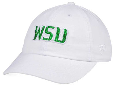 reputable site c58cf aa683 ... best price wright state raiders top of the world womens white glimmer  cap ce803 47cbc