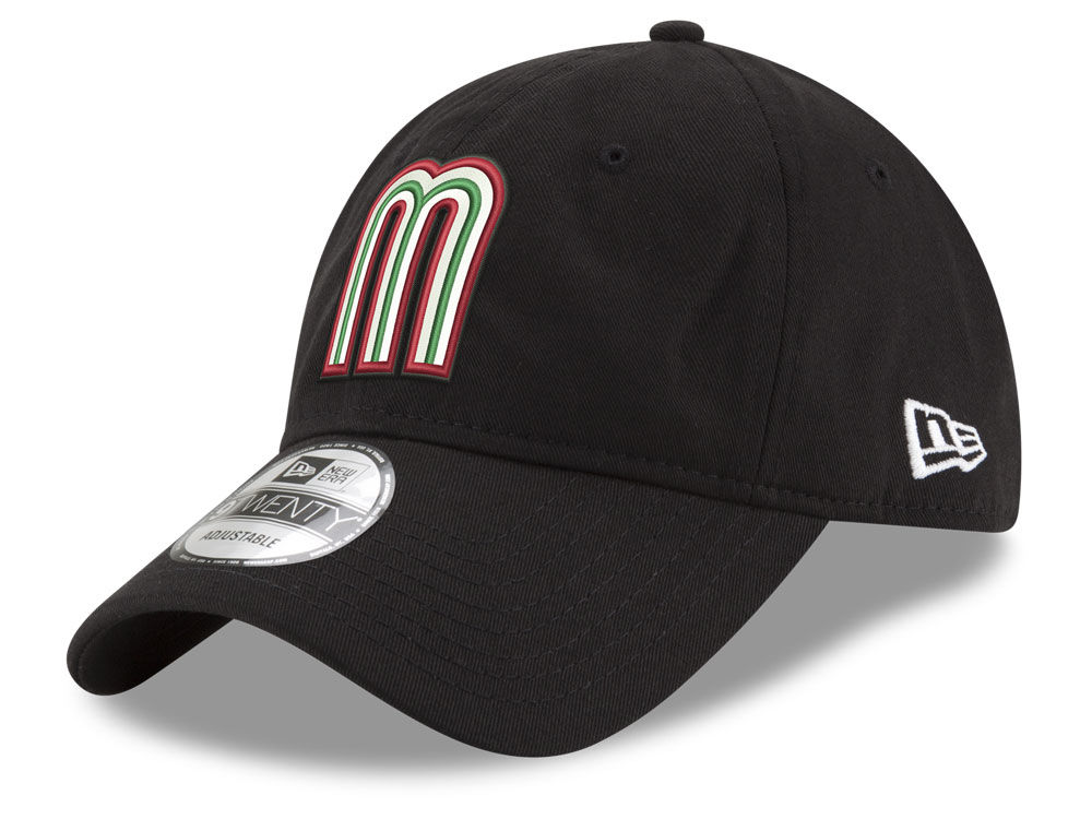 Mexico New Era 2017 World Baseball Classic 9twenty Strapback Cap