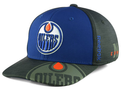 Edmonton Oilers adidas NHL 2017 Youth Playoff Flex Cap