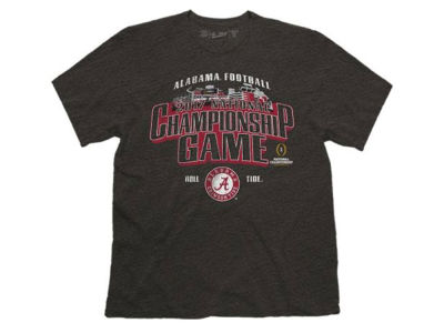Alabama Crimson Tide Retro Brand NCAA 2017 Men's National Championship Game Stadium T-Shirt