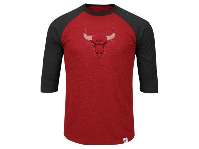 Chicago Bulls NBA Men's Excellent Attidue Raglan T-Shirt