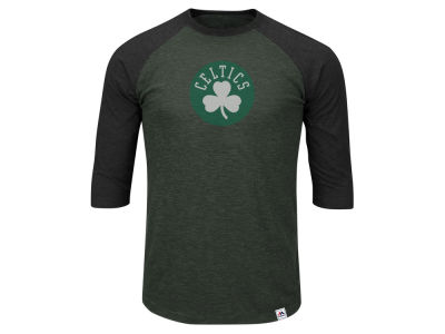 Boston Celtics NBA Men's Excellent Attidue Raglan T-Shirt