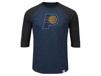 Indiana Pacers NBA Men's Excellent Attidue Raglan T-Shirt