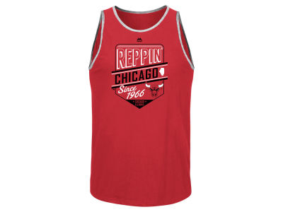 Chicago Bulls NBA Men's Defensive Win Tank
